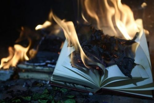 Featured Topic Image A Burning Book.