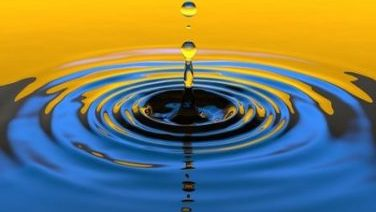 Image Of Slow Motion Water Drop.