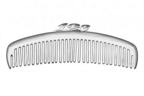 Featured Topic Image Comb With Small Handle Formed By Numbers 1,2 and 3.