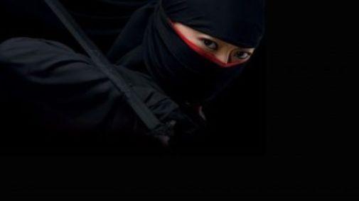 A Kunoichi. Female Ninja.