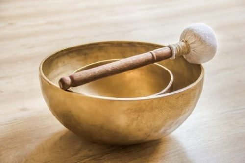 Featured Topic Image A Pair Of Singing Bowls, Striker.