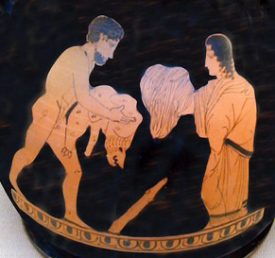 Featured Topic Heracles/Hercules Clothes Swapping With Queen Omphale.