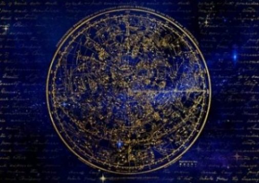 Star Map Of The Zodiac In The Northern Hemisphere.