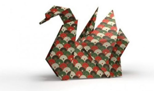 Featured Topic Swan Origami Styled.