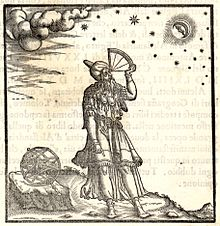 Claudius Ptolemy Stargazing At The Known Planets/Stars.