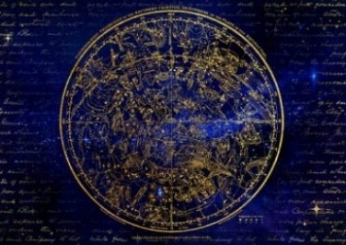 Star Map Of The Zodiac In The Southern Hemisphere.