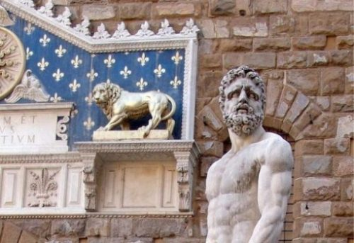 Featured Image A Statue Of Heracles/Hercules The Classical Greek Hero.