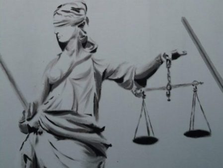 Pictorial Symbol Of Justice.