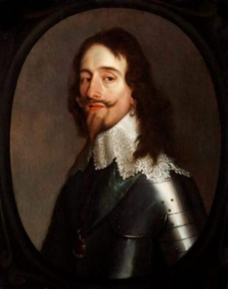 Portrait Of King Charles 1 by noted Dutch Artist Anthony van Dyck.