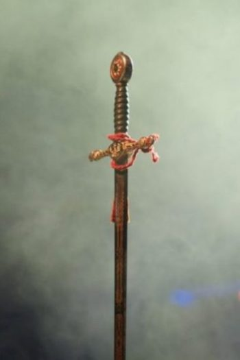 A Sword Hanging In The Air.
