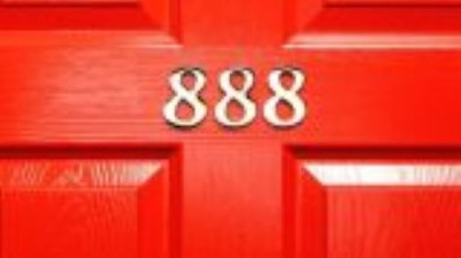 Featured Image Of A Red Door Numbered 888.
