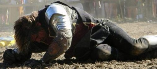 Image Of A Knight Fallen.