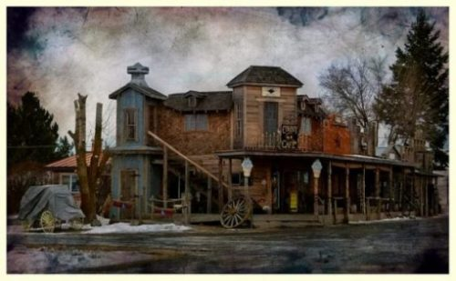 Featured Image Of A Wild West Town.