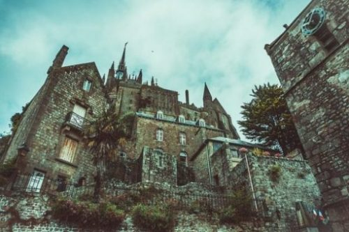 Featured Image Of An Ancient Gothic Castle And Buildings.
