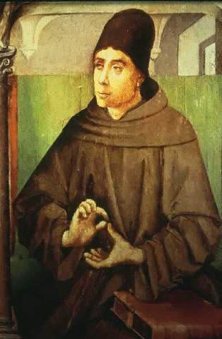 Image Of The Ancient Author, Teacher John Duns Scotus Of The Scottish Franciscan Friars.