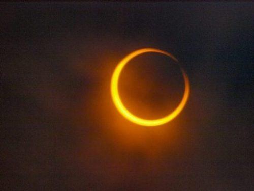 Image Of Sun/Moon Eclipse.