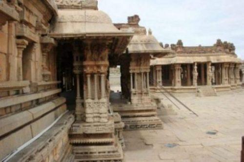 Image Of Vitthala Temple Musical Pillars.